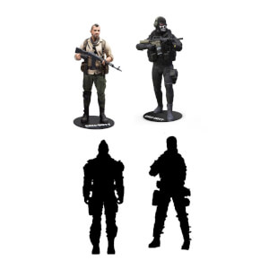 McFarlane Call of Duty 7 Inch Action Figures (Set of 4)