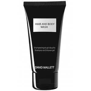 David Mallett Hair and Body Wash 50ml Travel Size