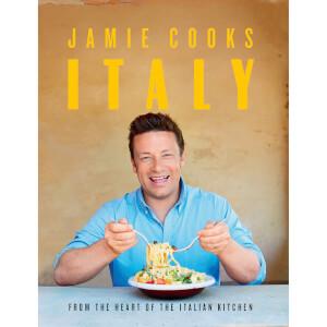 Signed Jamie Cooks Italy (Hardback)
