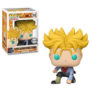 Dragonball Super Future Trunks Super Saiyan EXC Pop! Vinyl Figur