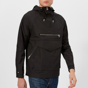 Pretty Green Men's Providence Water Resistant Overhead Jacket - Black