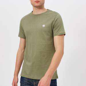 Pretty Green Men's Mitchell Crew T-Shirt - Khaki