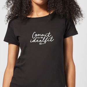 Commit To Be IdealFit Women's T-Shirt - Black