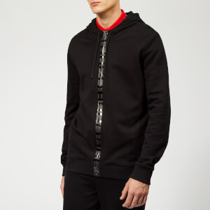HUGO Men's Daple Zip Thru Hoody - Black