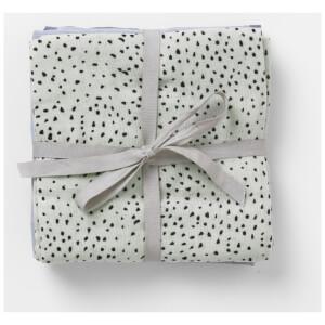 Ferm Living Muslin Squares - Mint Dot (Set of 3)