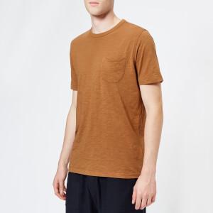 YMC Men's Wild Ones Pocket T-Shirt - Brown