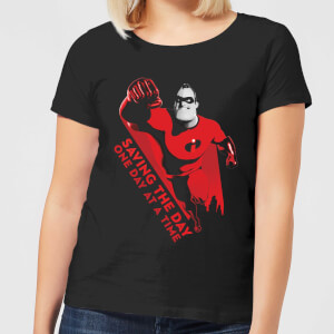 Incredibles 2 Saving The Day Dames T-shirt - Zwart