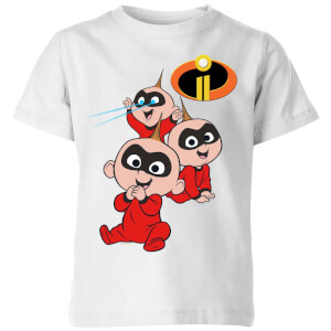 Incredibles 2 Jack Jack Poses Kids' T-Shirt - White