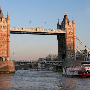 Three Course Meal at a Marco Pierre White Restaurant and Thames River Sightseeing Cruise for Two