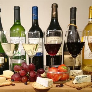 Luxury Wine Tasting Paired with Cheese, Fruit and Chocolate for Two