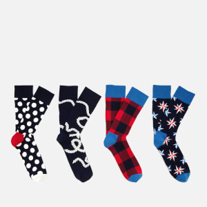 Happy Socks Men's Nautical Gift Box - Multi - UK 7.5-11.5