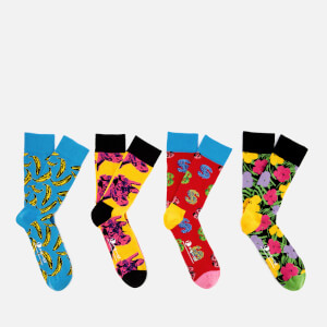Happy Socks Men's Andy Warhol Sock Box Set - Multi - UK 7.5-11.5