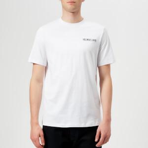Helmut Lang Men's Corner Dart Crew T-Shirt - White