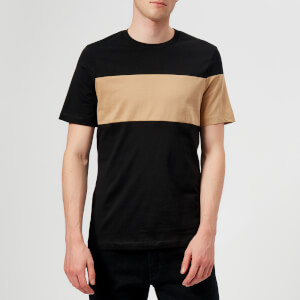 Helmut Lang Men's Band Logo T-Shirt - Camel/Black