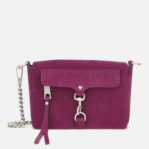 Rebecca Minkoff Women's Mab Flap Cross Body Bag - Magenta