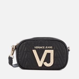 Versace Jeans Women's Diamonte VJ Cross Body Bag - Black