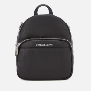 Versace Jeans Women's Chain Backpack - Black