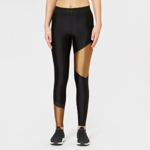 Koral Women's Glacier Mid Rise Sprint Leggings - Black/Toffee