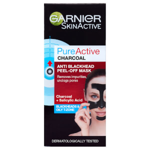 Garnier Pure Active Anti Blackhead Charcoal Peel Off Face Mask -kuorintanaamio