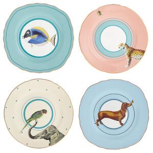 Yvonne Ellen Cake Plates Set - Blue