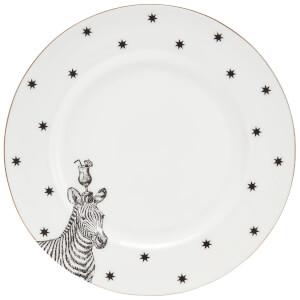 Yvonne Ellen Zebra Side Plate - White