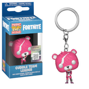 Portachiavi Funko Pop! - Cuddle Team Leader - Fortnite