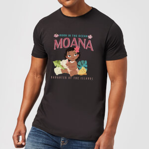 Moana Born In The Ocean Men's T-Shirt - Black