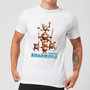 Vaiana (Moana) Fear The Kakamora Herren T-Shirt - Weiß