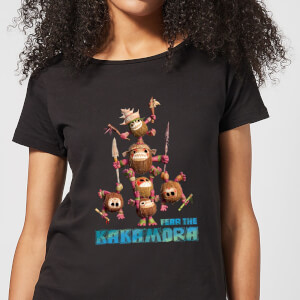 Vaiana (Moana) Fear The Kakamora Damen T-Shirt - Schwarz