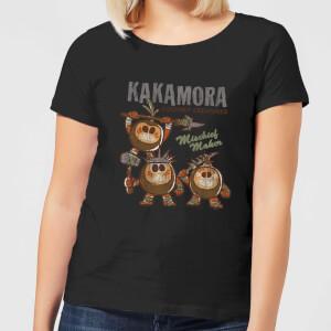 Moana Kakamora Mischief Maker Dames T-shirt - Zwart