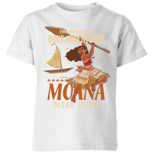Vaiana (Moana) Find Your Own Way Kinder T-Shirt - Weiß