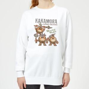 Moana Kakamora Mischief Maker Women's Sweatshirt - White