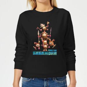 Moana Fear The Kakamora Women's Sweatshirt - Black