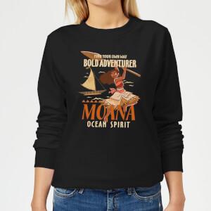 Vaiana (Moana) Find Your Own Way Damen Pullover - Schwarz