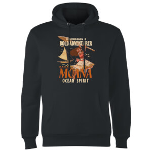 Moana Find Your Own Way Hoodie - Black