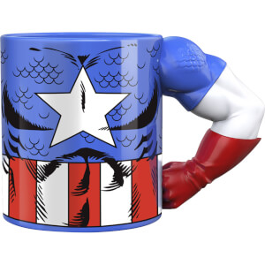 Meta Merch Marvel Captain America Tasse mit Arm