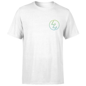 How Ridiculous 44 Pocket Emblem Colour Men's T-Shirt - White