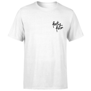 How Ridiculous Forty Four Pocket Script Men's T-Shirt - White