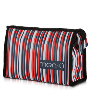 Косметичка в полоску men-ü Stripes Toiletry Bag – Blue/Red/White