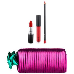 MAC Shiny Pretty Things Goody Bag - Red Lips (Worth £47)
