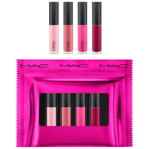 MAC Shiny Pretty Things Party Favours Mini Lip Glosses - Pink