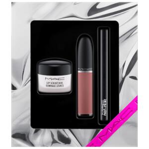 MAC Shiny Pretty Things Sweet Scrub Set - Vanilla