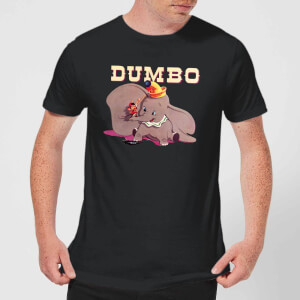 Disney Dumbo Timothy's Trombone Men's T-Shirt - Black