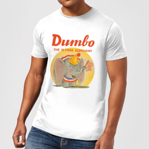 T-Shirt Homme Flying Elephant Dumbo Disney - Blanc