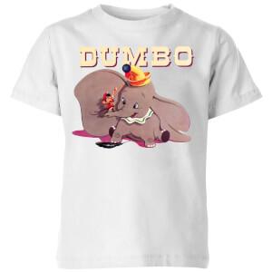 T-Shirt Enfant Trombone Dumbo Disney - Blanc