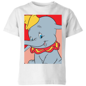 Camiseta Disney Dumbo Retrato - Niño - Blanco