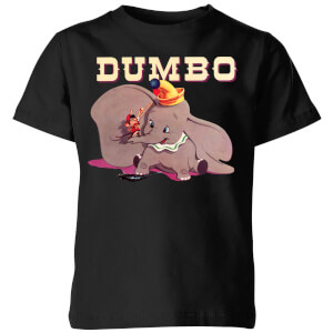 Dumbo Timothy's Trombone Kids' T-Shirt - Black