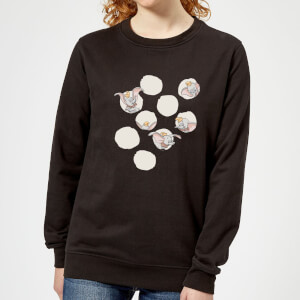 Dumbo Peekaboo Women's Sweatshirt - Black