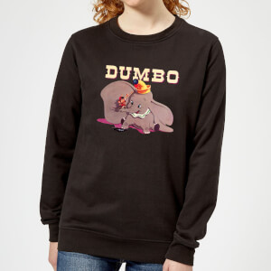 Dumbo Timothy's Trombone Women's Sweatshirt - Black