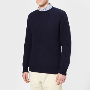 Howlin' Men's Birth Of The Cool Crew Neck Knitted Jumper - Navy